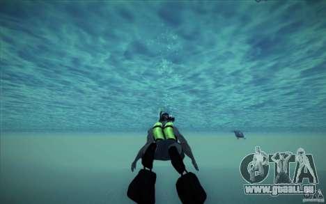 Bouteille de plongée pour GTA San Andreas cinquième écran