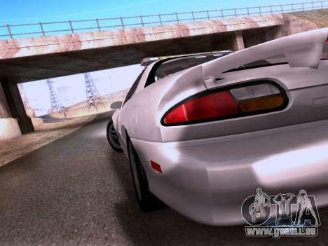 Chevrolet Camaro 2002 California Highway Patrol pour GTA San Andreas vue intérieure