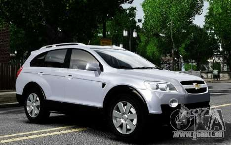 Chevrolet Captiva 2010 für GTA 4 hinten links Ansicht
