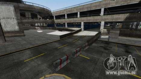 Dérive-piste à l'aéroport pour GTA 4 troisième écran