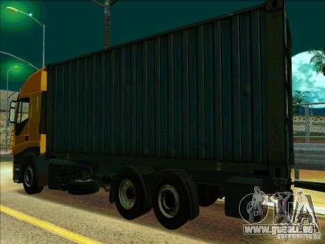 Iveco Stralis pour GTA San Andreas vue de droite