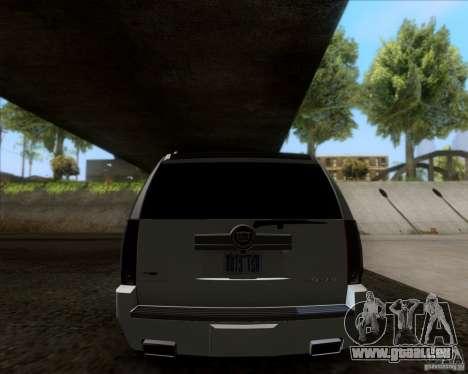 Cadillac Escalade ESV Platinum 2013 für GTA San Andreas rechten Ansicht