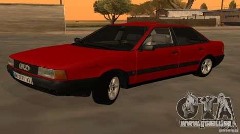 Audi 80 B3 v2.0 pour GTA San Andreas laissé vue