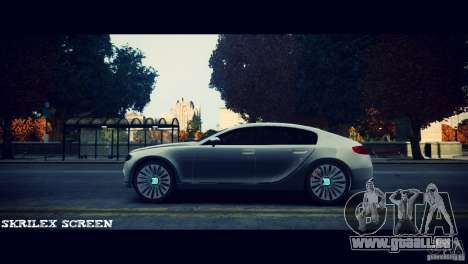 Bugatti Galibier 16C (Bug fix) pour GTA 4 Vue arrière de la gauche