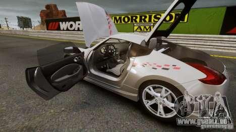 Nissan 370Z NISMO S-Tune pour GTA 4 Vue arrière de la gauche