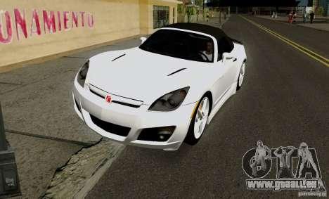 Saturn Sky Red Line 2007 v1.0 für GTA San Andreas