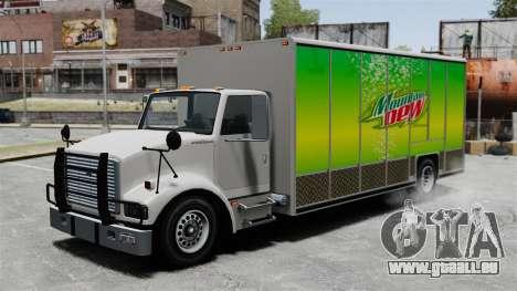 La nouvelle publicité pour camion de Benson pour GTA 4
