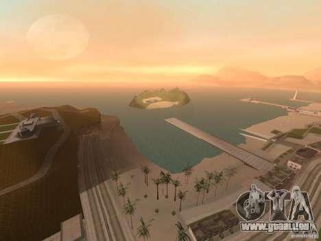 Volcano pour GTA San Andreas quatrième écran