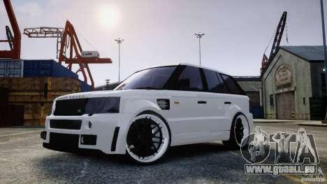 Range Rover Sport RR SCHEARZ pour GTA 4