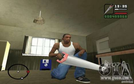Säge für GTA San Andreas dritten Screenshot