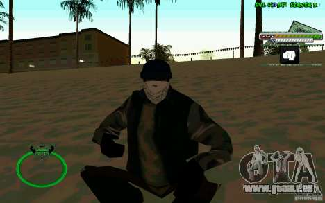 Bomje & Gop pour GTA San Andreas deuxième écran
