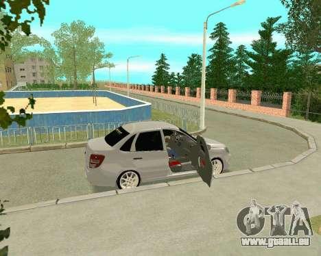 VAZ 2190 für GTA San Andreas Innenansicht