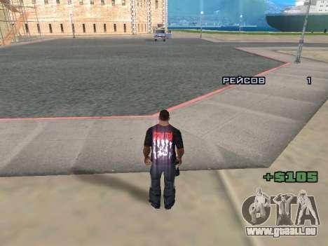 Journaliste pour GTA San Andreas quatrième écran