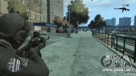 LE PKK pour GTA 4 cinquième écran