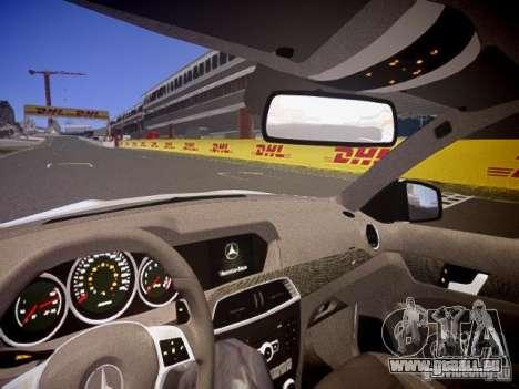 Mercedes-Benz C63 AMG Stock Wheel v1.1 für GTA 4 obere Ansicht