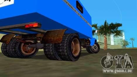 ZIL 130 pour GTA Vice City sur la vue arrière gauche