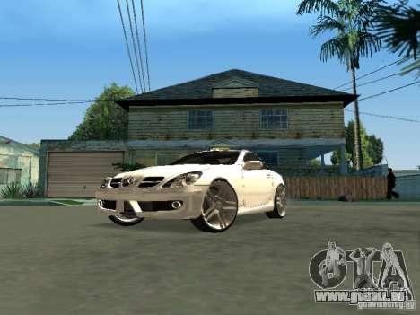 Mercedes Benz SLK 300 pour GTA San Andreas vue de droite
