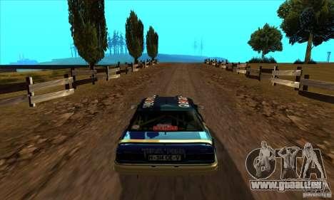 Ford Sierra RS500 Cosworth RallySport pour GTA San Andreas vue de droite