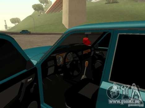 Volga GAZ 31029 für GTA San Andreas rechten Ansicht