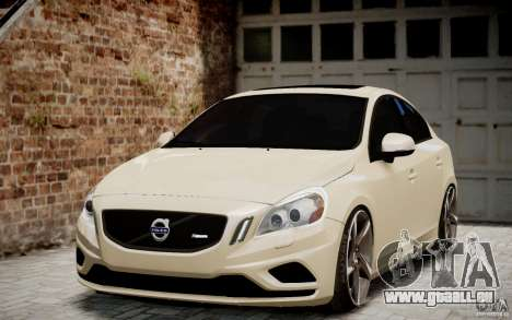 Volvo S60 R-Design 2011 pour GTA 4 Vue arrière