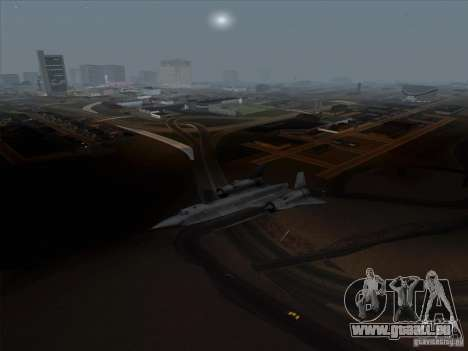 YF-12A für GTA San Andreas linke Ansicht