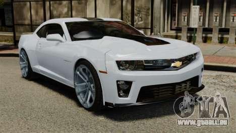 Chevrolet Camaro ZL1 für GTA 4
