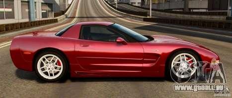 Chevrolet Corvette C5 2001 EPM pour GTA 4 est une gauche