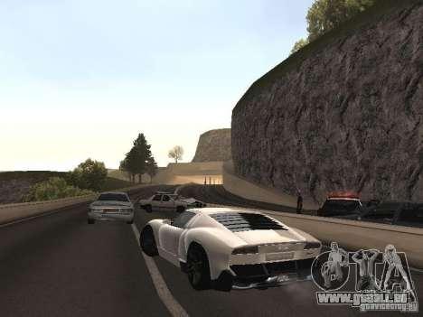 Lamborghini Miura LP670 pour GTA San Andreas laissé vue