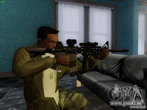 MK-18 US Navy Style für GTA San Andreas dritten Screenshot