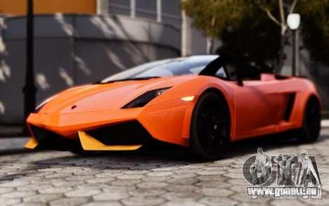 Lamborghini Gallardo LP570-4 Spyder für GTA 4