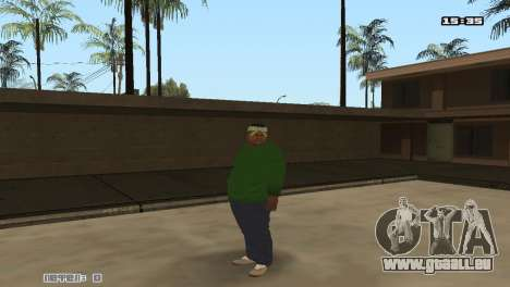 Skin Pack Groove Street für GTA San Andreas zweiten Screenshot