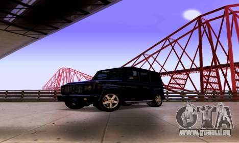 Mercedes-Benz G500 für GTA San Andreas rechten Ansicht