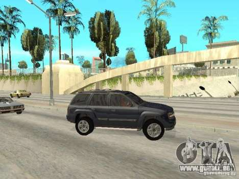 Chevrolet TrailBlazer 2003 für GTA San Andreas linke Ansicht
