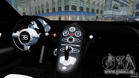 Bugatti Veyron 16.4 v1.0 wheel 1 pour GTA 4 est une vue de l'intérieur