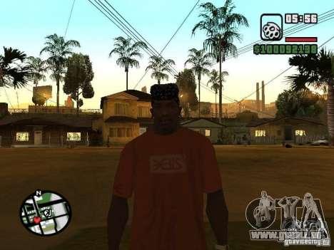 Rammstein T-shirt v1 für GTA San Andreas her Screenshot