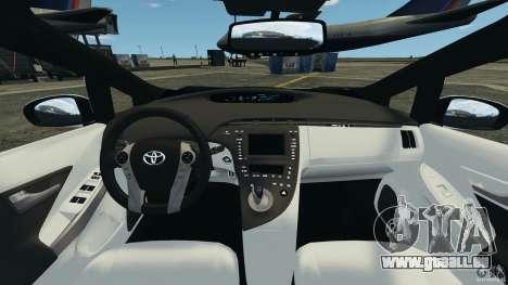 Toyota Prius NY Airport Service pour GTA 4 Vue arrière