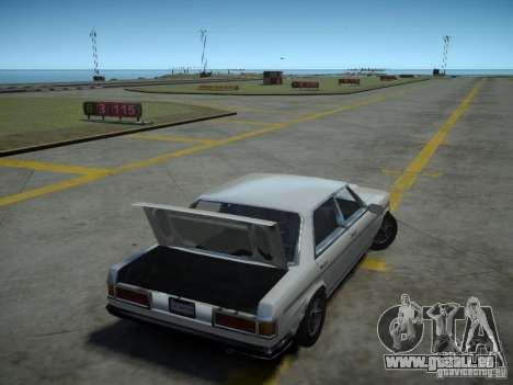 Admiral SA für GTA 4 Rückansicht