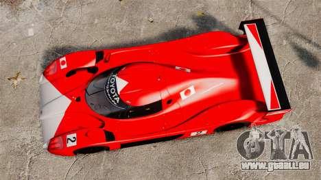 Toyota GT-One TS020 pour GTA 4 est un droit
