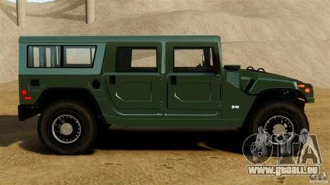 Hummer H1 Alpha pour GTA 4 est une gauche