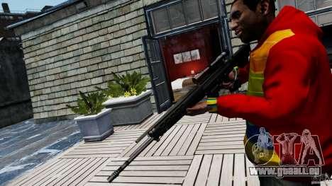 SIG SG 550 Sniper pour GTA 4 secondes d'écran