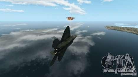 Air Combat IV pour GTA 4 troisième écran
