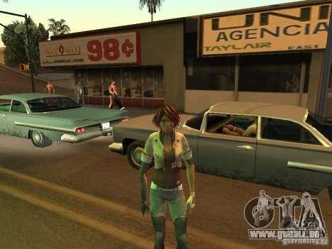 Remember Me Nilin für GTA San Andreas fünften Screenshot