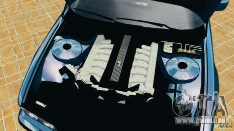 BMW 750iL E38 1998 für GTA 4 obere Ansicht