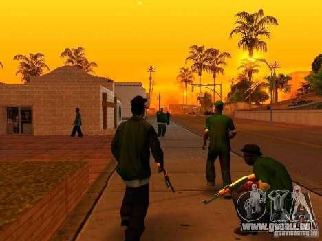 Grove Street Forever für GTA San Andreas zweiten Screenshot
