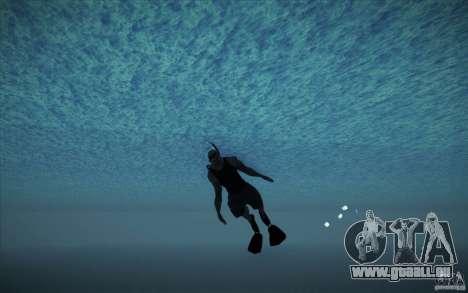 Bouteille de plongée pour GTA San Andreas quatrième écran
