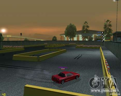 Circuit de dérive pour GTA San Andreas