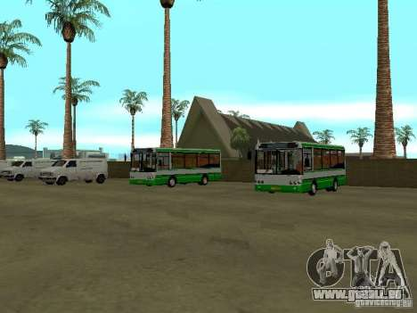 4-th Bus v1. 0 für GTA San Andreas zweiten Screenshot