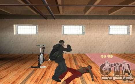 The combat system from GTA IV pour GTA San Andreas troisième écran