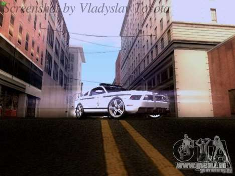Ford Mustang GT 2011 Police Enforcement für GTA San Andreas