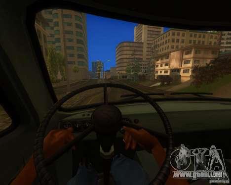 UAZ 330364 für GTA San Andreas Rückansicht
